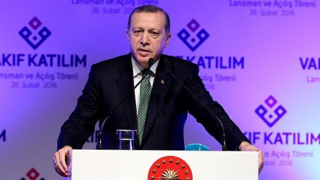 Cumhurbaşkanı Erdoğan'dan bankalara faiz çıkışı