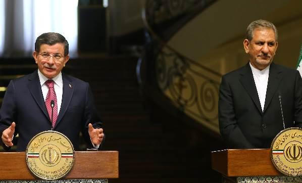 Başbakan Ahmet Davutoğlu İran'da konuştu