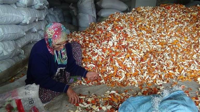 Üreticinin yeni umudu portakal kabuğu