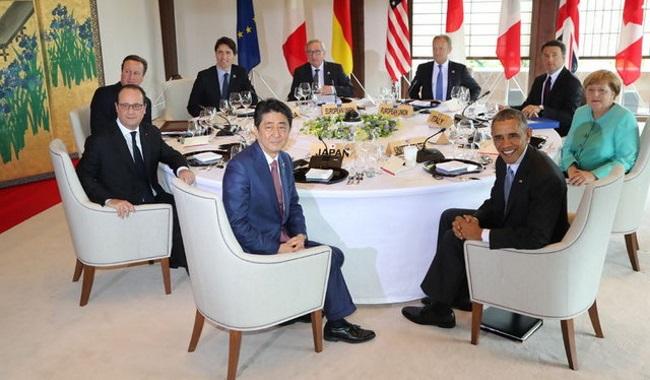 G7 liderleri o adada buluştu