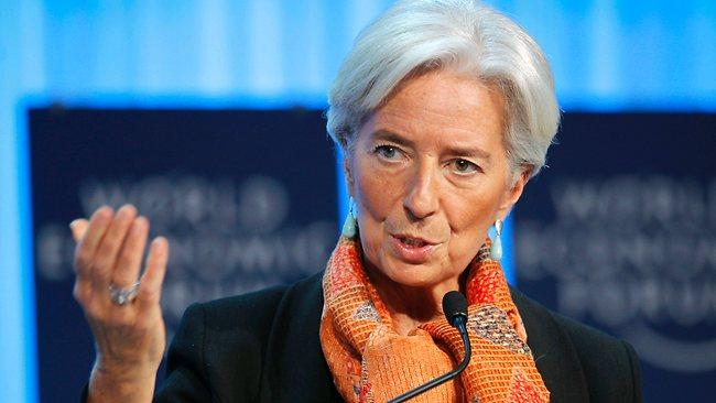 Lagarde: Dibe doğru…!