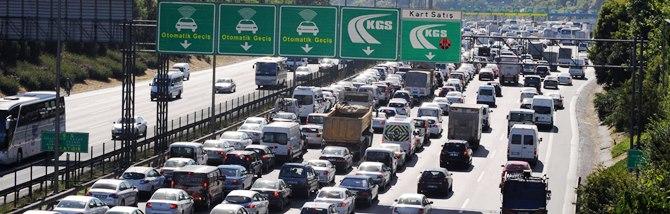 18 milyar liralık trafik cezası
