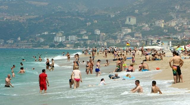 Antalya'da turizm yükselişte
