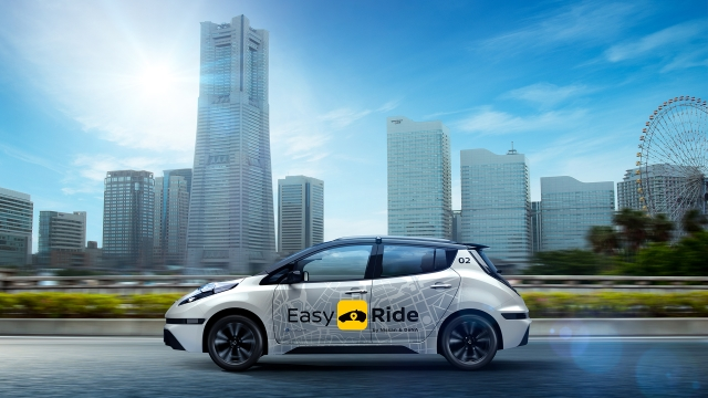 NISSAN'dan robot taksi