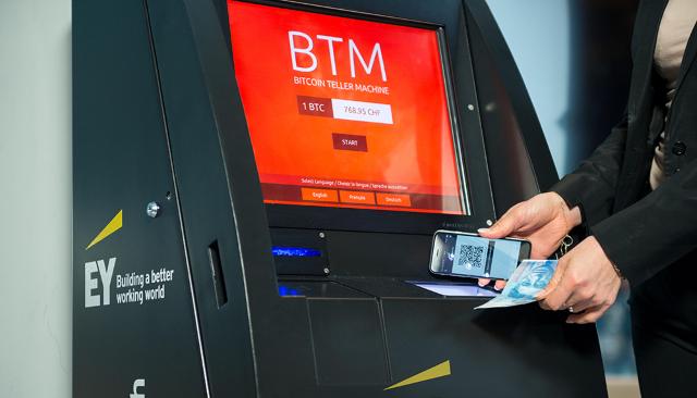 Bitcoin ATM'leri geliyor