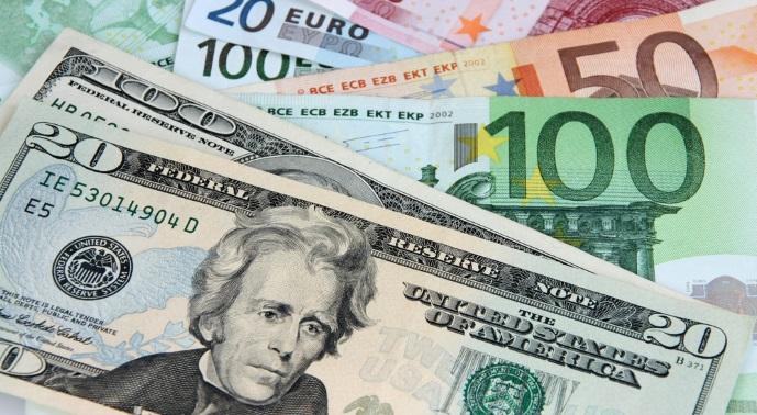 Dolar 5.30'un euro 6'nın altında