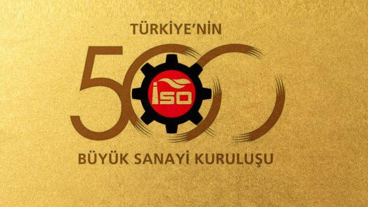 Türkiye'nin 500 büyük şirketi belli oldu