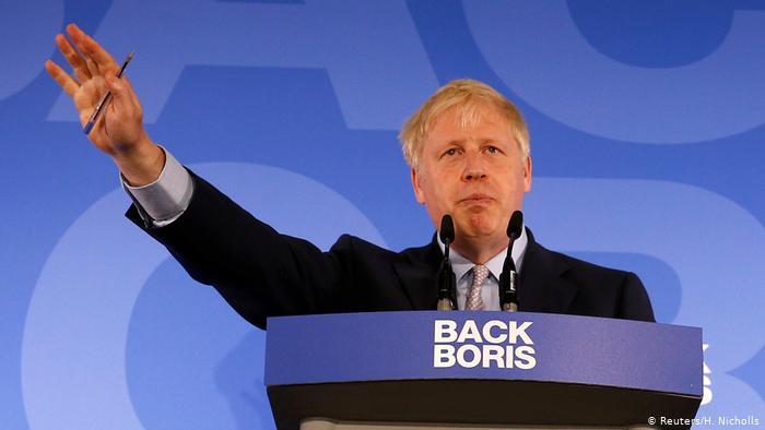 İngiltere'nin yeni başbakanı Johnson