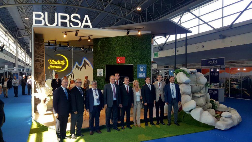 Bursa Turizm Fuarı'na büyük ilgi