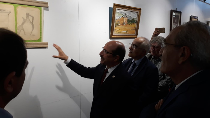 Hakim'den şehit savcı için resim sergisi