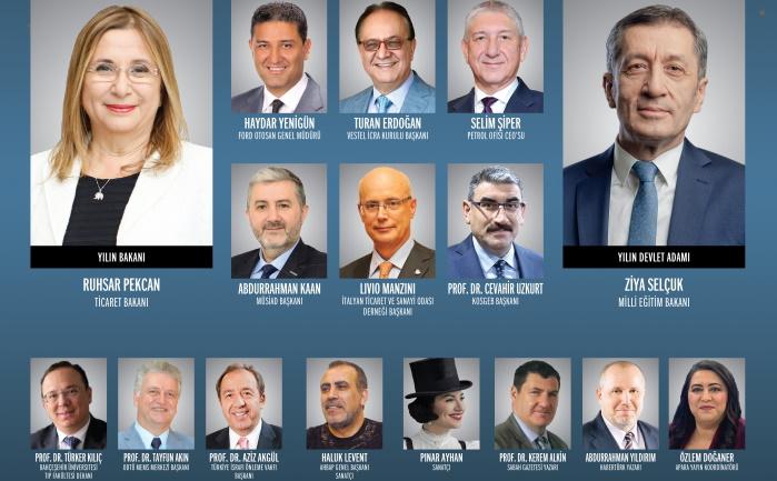 Türkiye'ye ve dünyaya değer katanlar, ödüllerine kavuştu
