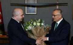 Uysal, görevi yeni Başkan Ağbal'a teslim etti