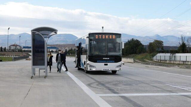 Otokar'dan sürücüsüz otobüs!