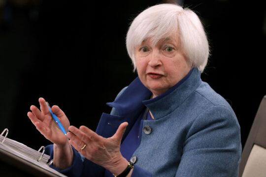 Yellen, kripto paralar için endişeli