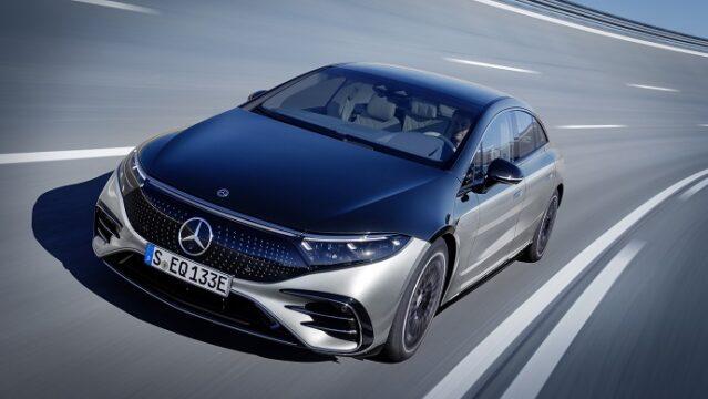 Mercedes'den elektrikli lüks araç