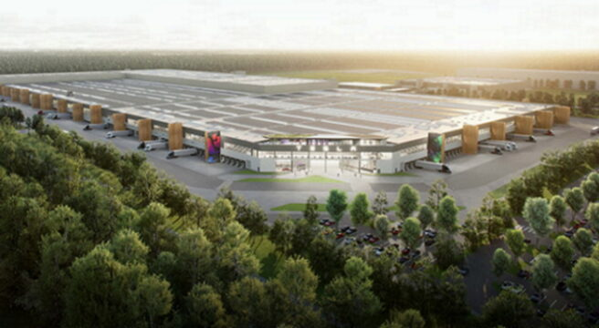 Tesla'nın Berlin'deki fabrikasında otomobil üretimi başlıyor